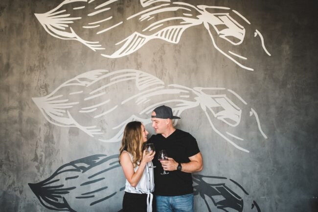 Engagement Photo Session Richmond Brewery Veil Brewing
