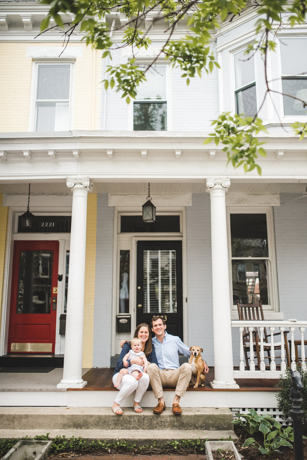 Richmond Virginia Fan District Family Photographer