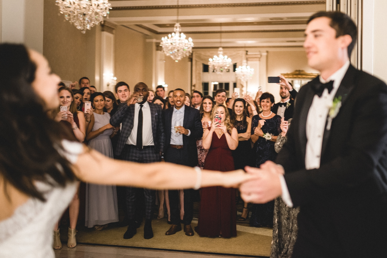 Winchester Virginia George Washington Hotel Wedding Photographer