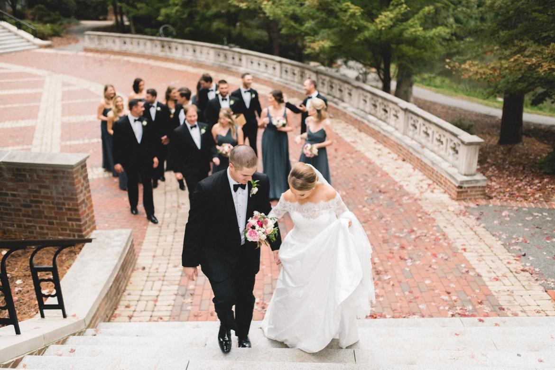 University of Richmond Cannon Memorial Richmond Virginia Wedding