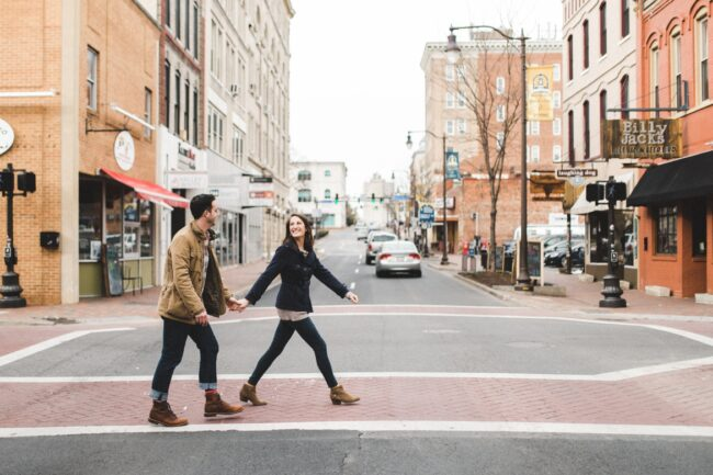 Harrisonburg Virginia Engagement Photographer