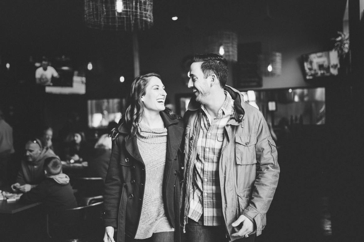 Virginia Brewery Engagement Photographer
